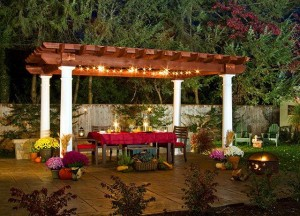 A pergola perfect for outdoor living
