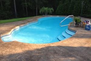 Fiberglass Pool 1