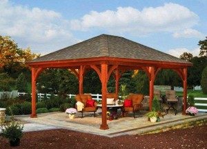 A large pavilion great for parties