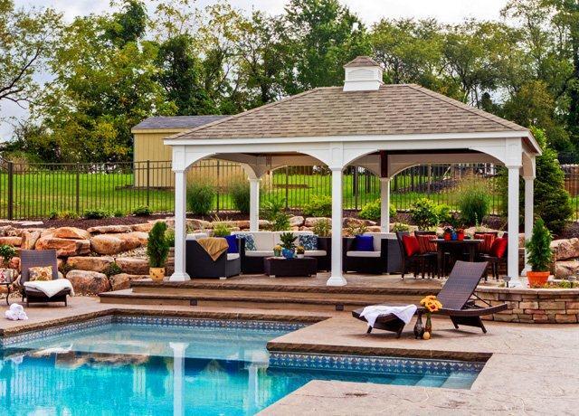 Pavilions Backyard Vision Wilmington Nc