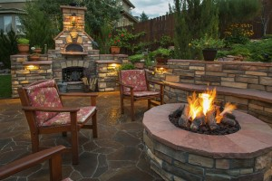 Firepit & Fireplace