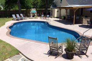 Fiberglass Pool 2