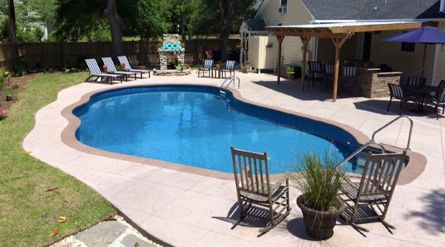 Concrete pool design and construction for Best type of inground pool
