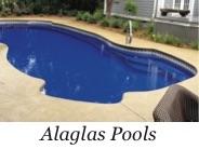 Alaglas Fiberglass Pool