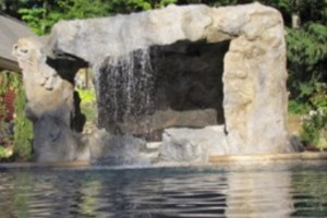 Grotto w/ Waterfall