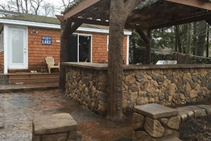 Outdoor Kitchen w/ Pergola