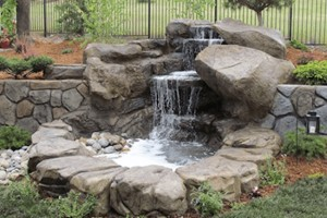Waterfall w/ Pond