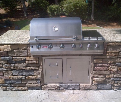 Standard Outdoor Kitchen
