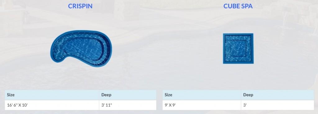 fiberglass pool & spa barrier reef