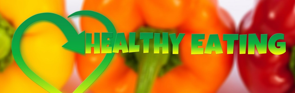 eat healthy sign